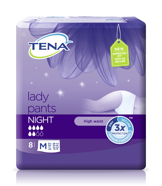 Bleie Tena Lady Pants Night M 8pk
