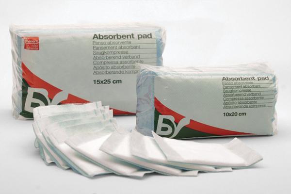 Bandasje absorberende BV 20x25cm