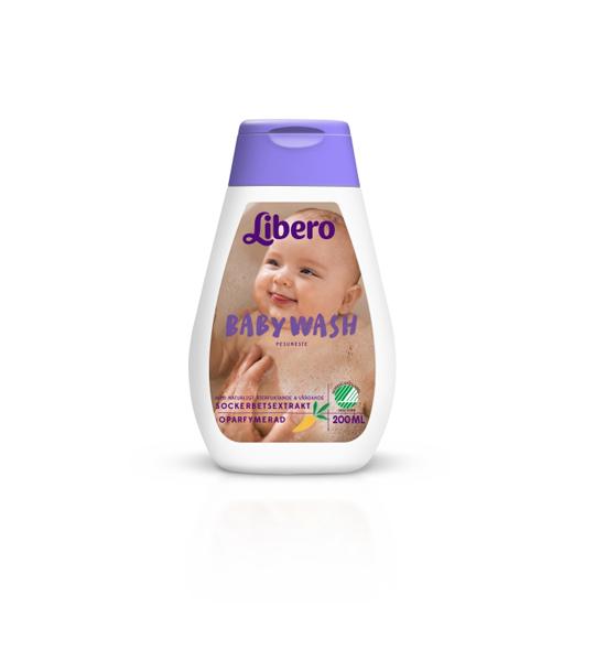 Såpe Libero Baby Wash u/parf 200ml