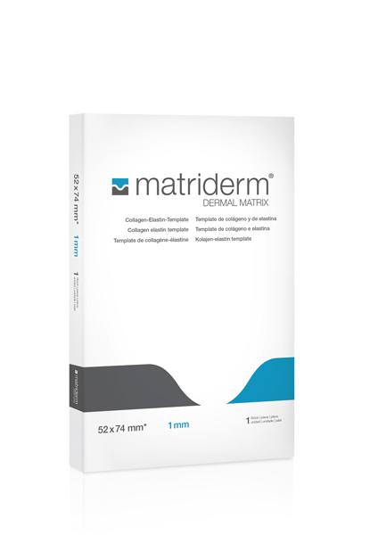 Vevserstatning kolla/elast Matrix Matriderm A4 2mm