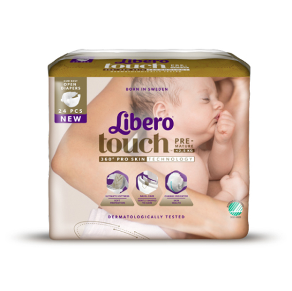 Bleie Barn Libero Touch Mini Premature <1,2kg 25pk