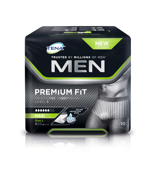 Bleie Tena Men PU Level 4 L 10pk