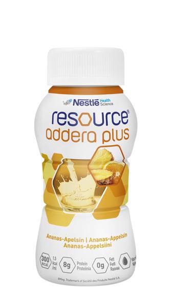 Drikk Resource Addera Plus ananas & app 200ml