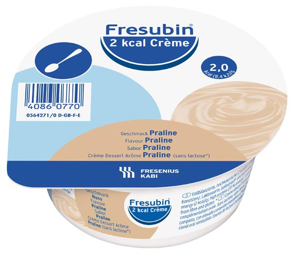 Tilskudd Fresubin 2kcal Creme nougat 125gr