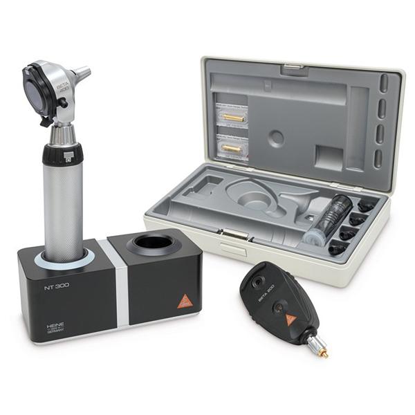 Oto/oftalmoskop sett Heine Beta 400 m/bordlader