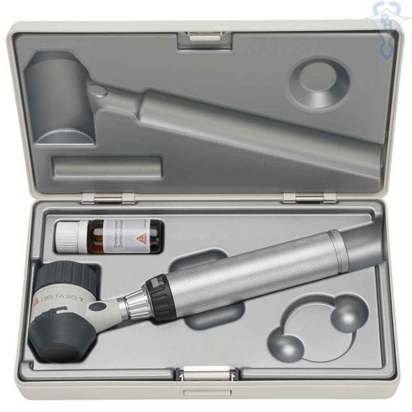Dermatoskopsett Heine Delta 20 batteri