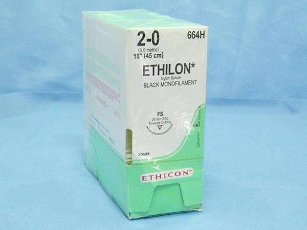 Sutur Ethilon 664H 2-0 M-2 45cm