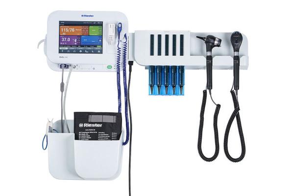 Monitor Riester RVS-200 blodtrykk SpO2 Temp