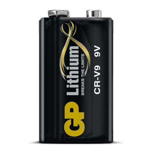 Batteri lithium GP CRV9SD-2U1 9V