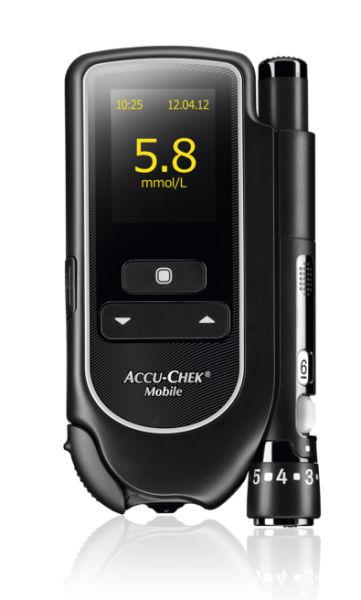 Accu Chek Mobile blodsukker apparat