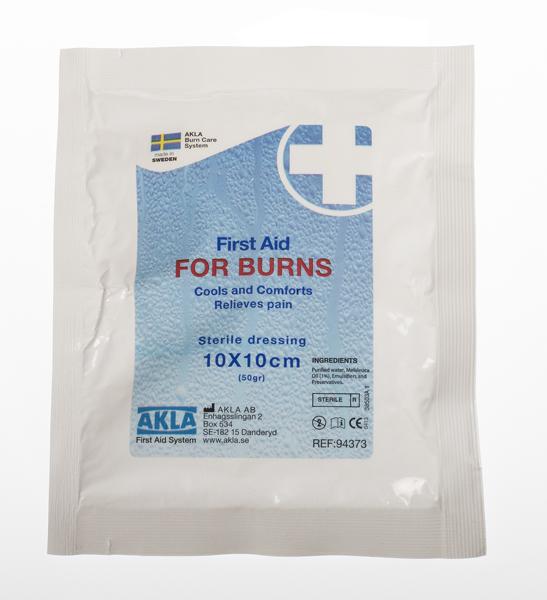 Bandasje brannsår FOR BURNS 10x10cm