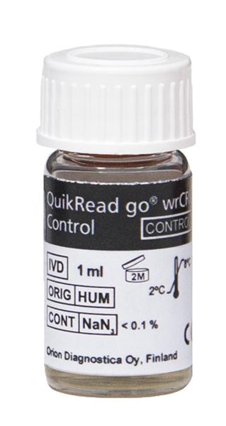 QuikRead Go wrCRP kontroll 1ml