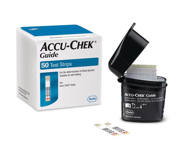 Accu-Chek Guide teststrimmler