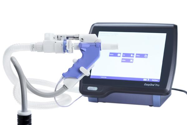 Spirometer EasyOne Pro DLCO lungefunkjson