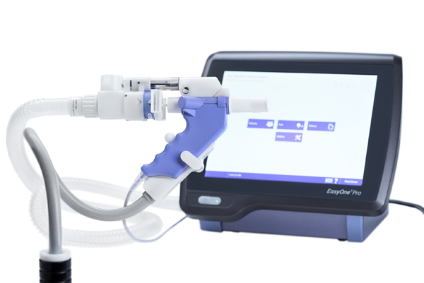 Spirometer EasyOne Pro LAB DLCO FRC lungefunksjon