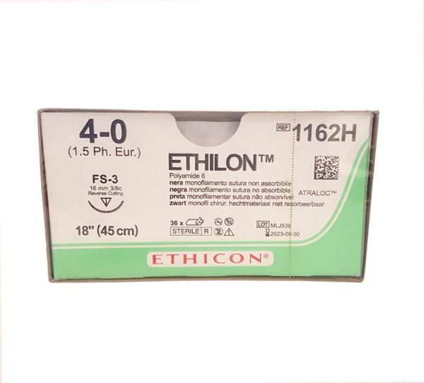 Sutur Ethilon 1162H 4-0 FS-3 45cm sort