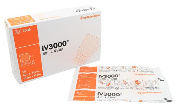 Bandasje kanyle transparent IV 3000 10x12cm