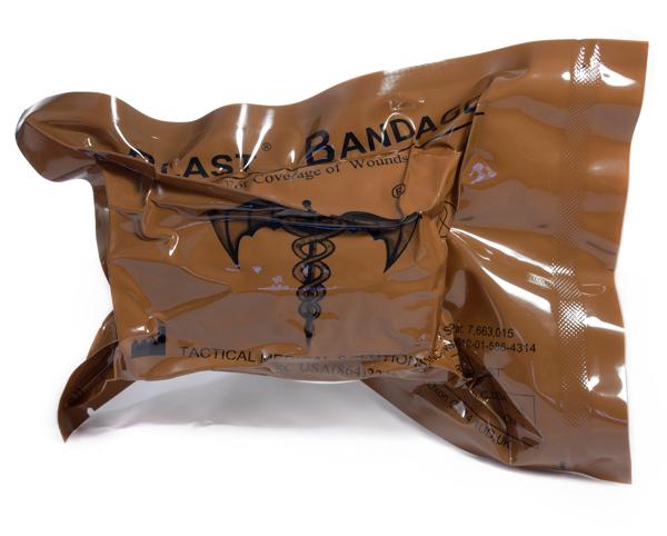 Førstehjelp BLAST bandasje traume 50x50cm