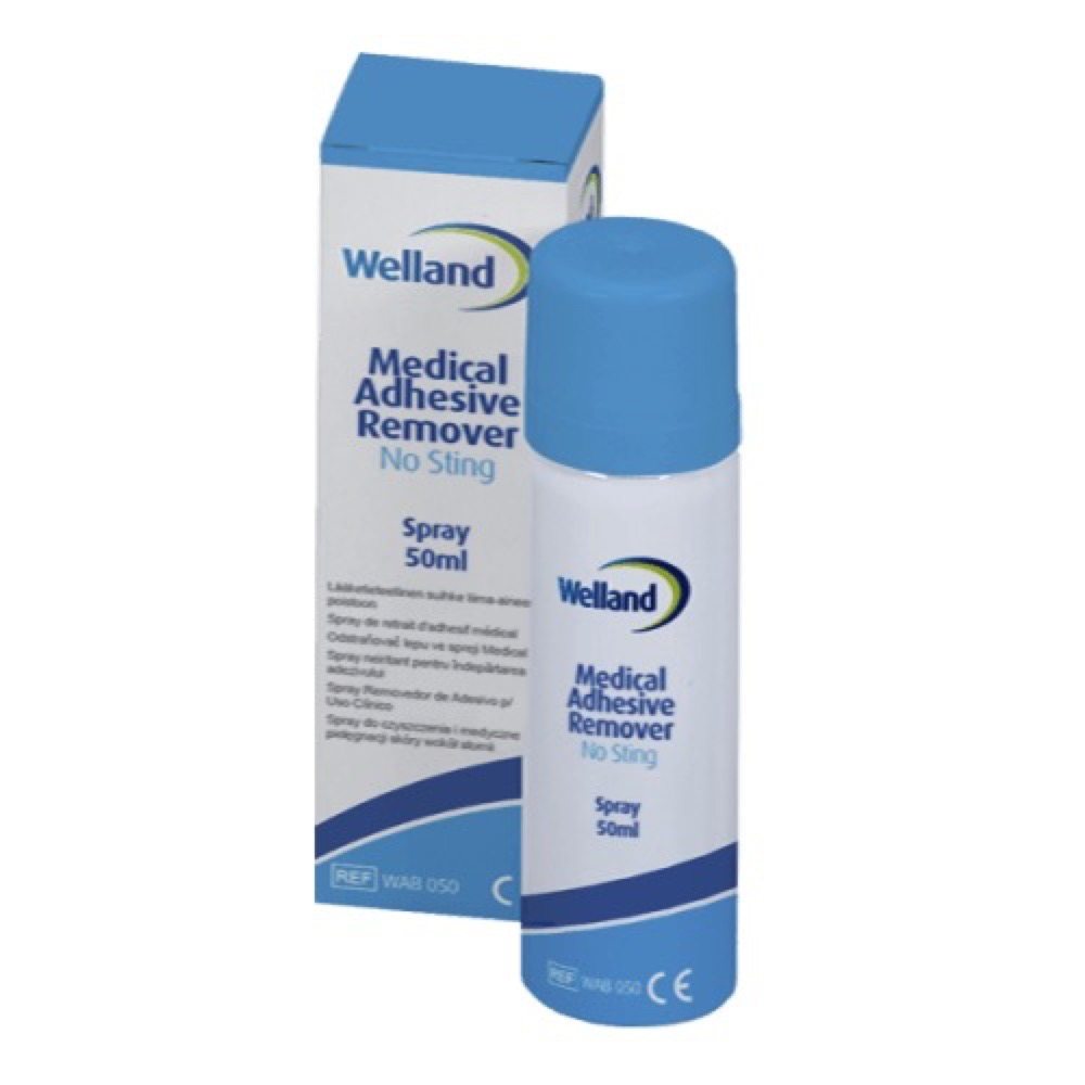 Klebefjerner Welland spray no sting 50ml