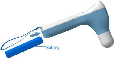 Blærescanner BVS Pro batteri