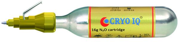CryolQ Pro fryseapparat  m/ 1 patron i koffert
