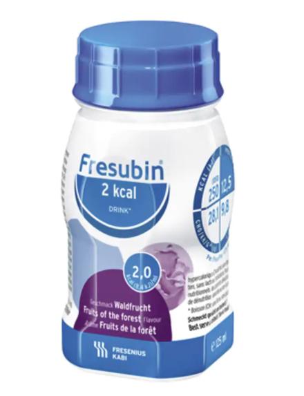 Drikk Fresubin 2kcal Drink skogsbær 125ml 4pk