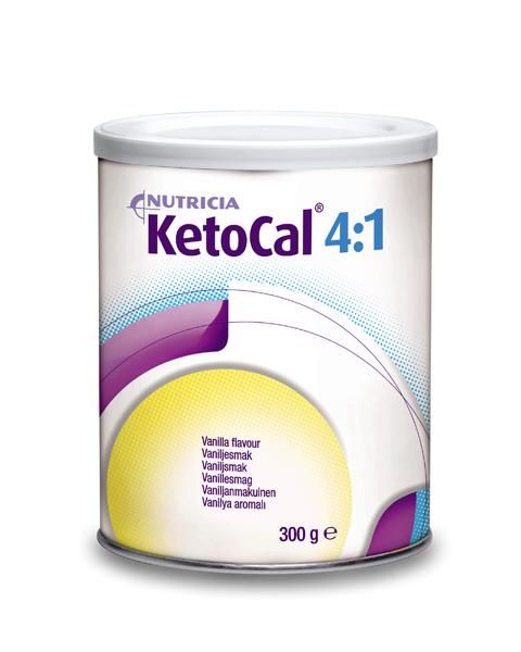 Tilskudd Ketocal 4:1 vanilje 300g