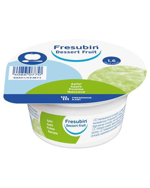 Dessert Fresubin fruit eple 125gr 4pk