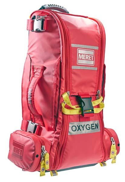 Førstehjelp Meret Recover oksygensekk ICB rød