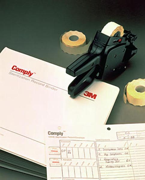 Sterilisering Comply etiketter 1257bl
