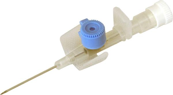 Kanyle infusjon BD Venflon PRO 22G 0,9x25mm blå