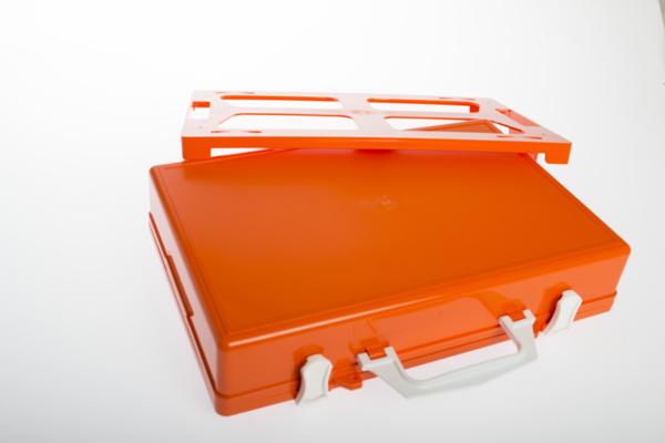 Førstehjelp koffert u/innhold medium