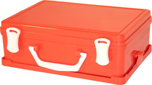 Førstehjelp koffert u/innhold liten