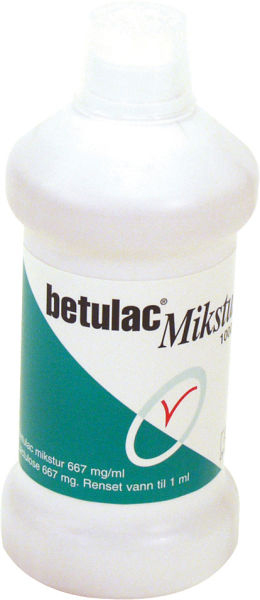 Tarmregulerende Betulac laktulose 1000ml
