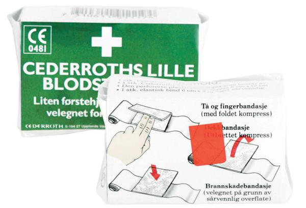 Blodstopper Cederroth liten