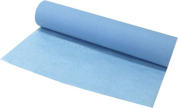 Legebenkpapir m/plast 50cmx50m perf 40cm 175ark