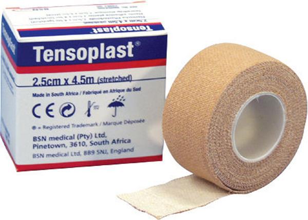 Tape selvklebende Tensoplast 2,5cmx4,5m hf