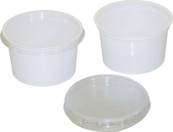 Protese/Spyttebeger plast  240ml