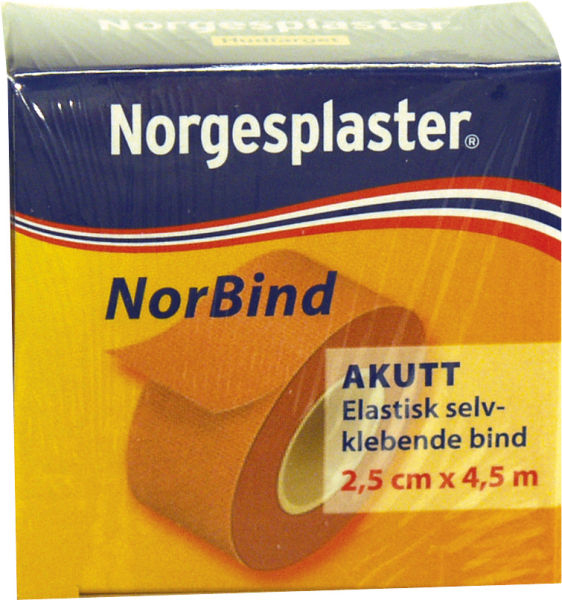 Tape selvklebende Norbind 4202 2,5cmx4,5m