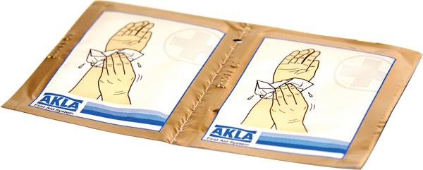 Sårvask servietter bulklevert