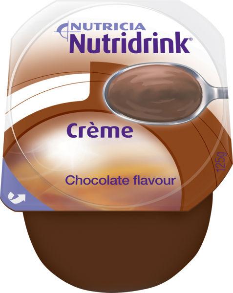 Tilskudd Nutridrink Creme kakao 125gr 4pk