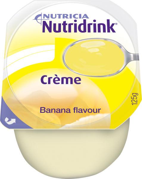 Tilskudd Nutridrink Creme banan 125ml 4pk