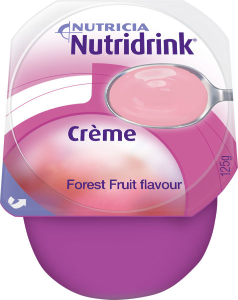 Tilskudd Nutridrink Creme skogsbær 125gr 4pk