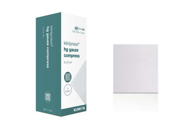 Kompress gas Klinion 5x5cm 8lag usteril