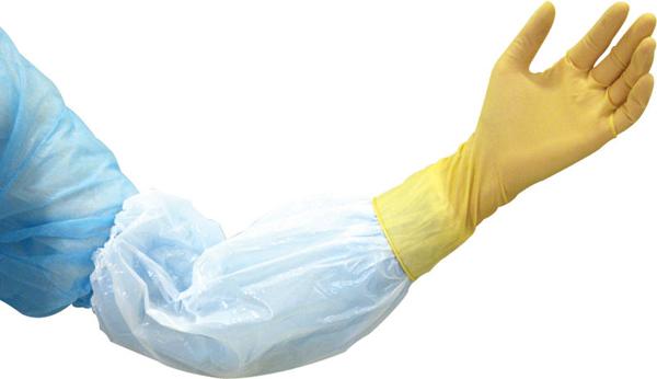 Armbeskytter Klinion polyetylen hvit