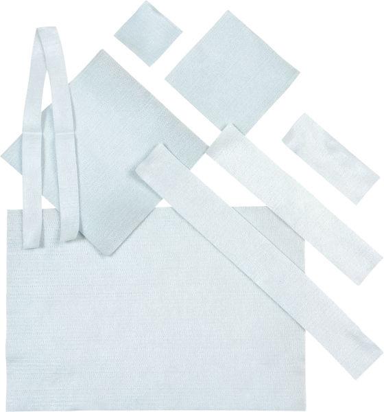Bandasje sølv Aquacel AG 10x10cm