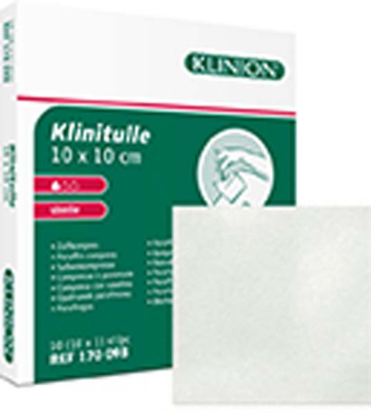 Kompress vaselin Klinion Klinitulle 10x30cm
