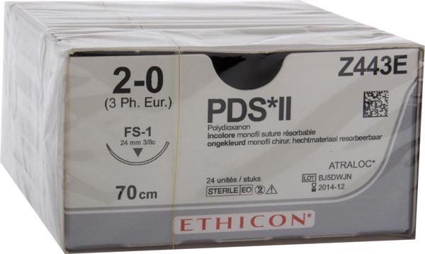 Sutur PDS II Z443E 2-O FS-1 70CM HVI