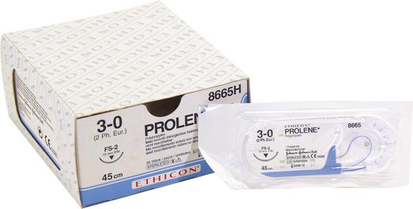 Sutur Prolene 8832H 3-0 SH 75cm