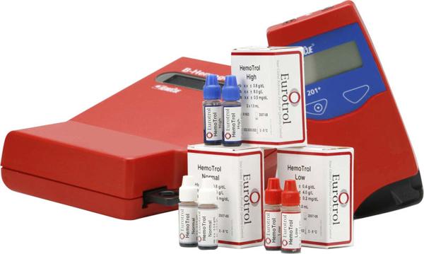 Hemocue Hemotrol kontroll høy 2x1ml